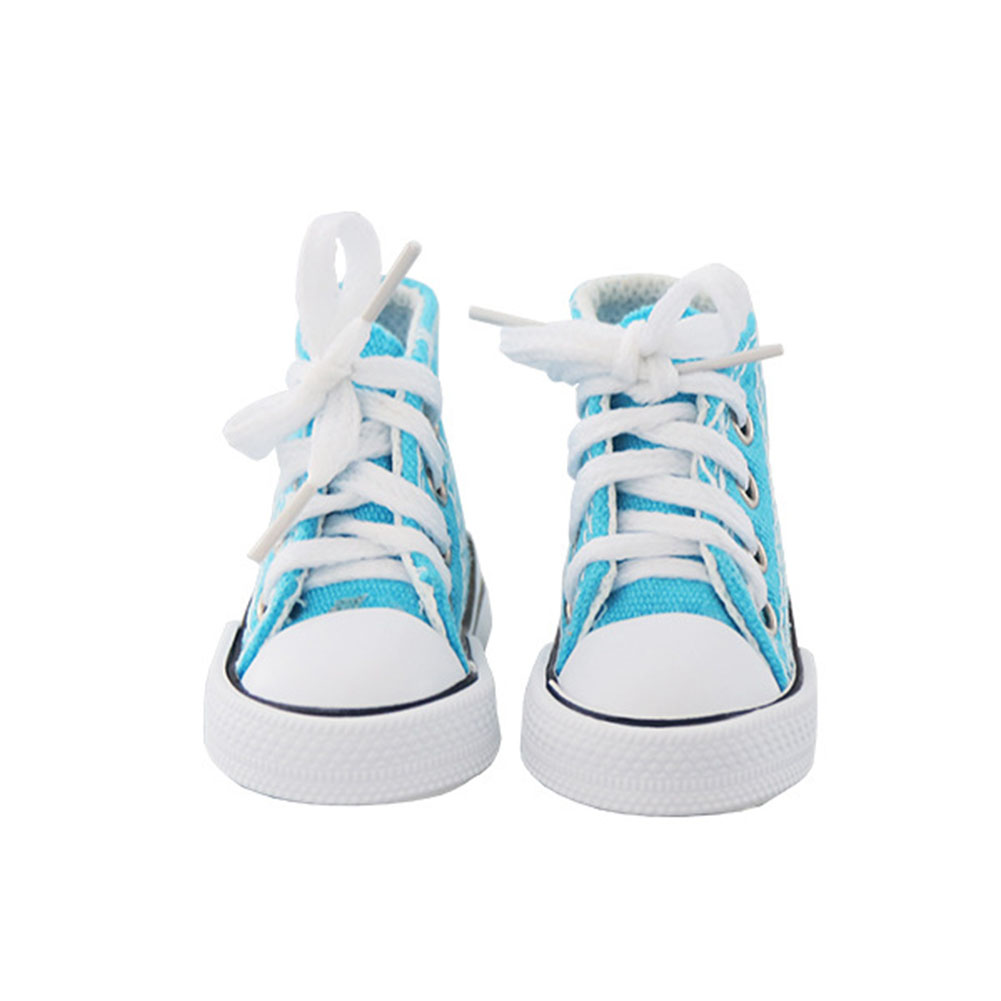 Children Sneakers Lace-up Canvas Shoes Baby Accesorios Blue canvas shoes