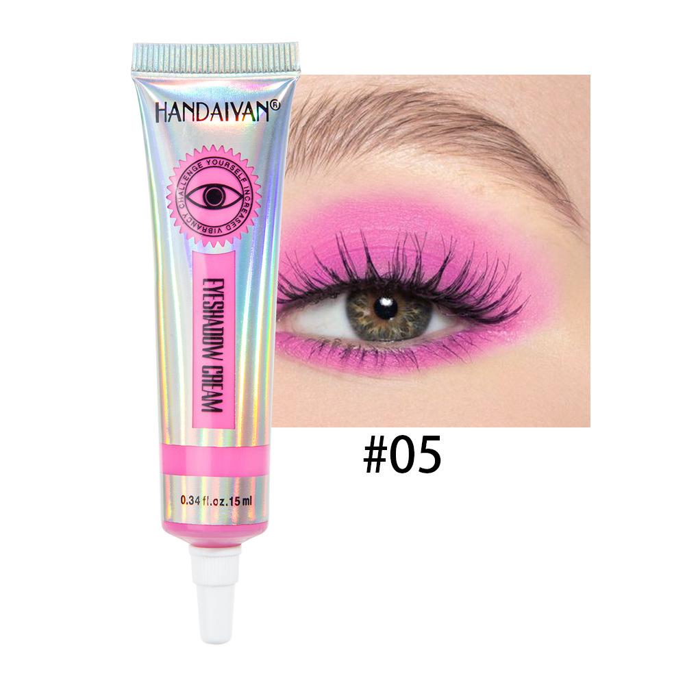 Universal 12 Colors Matte Eyeshadow Lasting Eye Shadow Cream for Women 5#