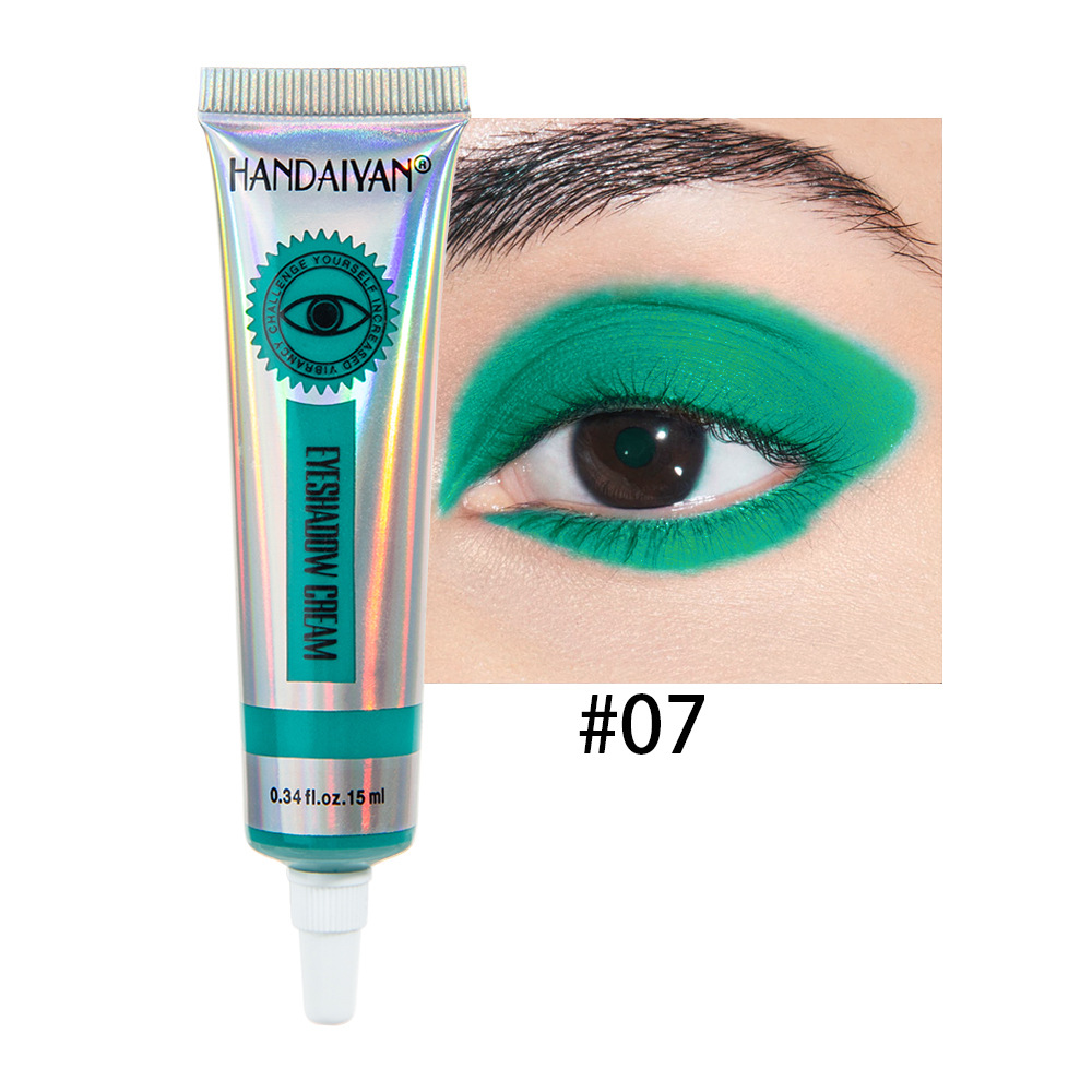Universal 12 Colors Matte Eyeshadow Lasting Eye Shadow Cream for Women 7#