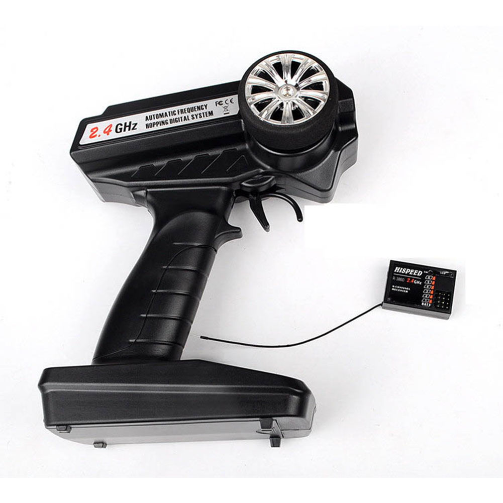 TSD T3920C 3CH 2.4GHz Radio System with LCD Dual Set-up Mode Out-of-control Protection Radio System black