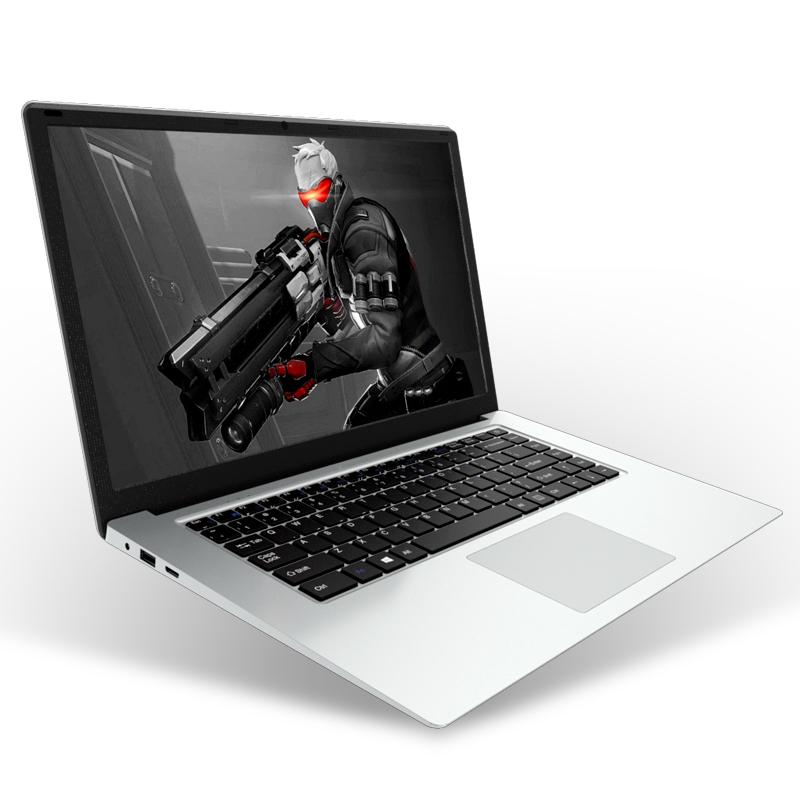 15.6inch Laptop Z8350 Win10 OS intel Quad core 4+64GB Notebook 1920*1080HD silver_US