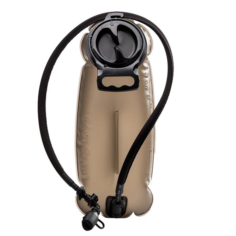 Outdoor Water Bag TPU Material 3L Sport Riding Bag Crush-resistance Liner Portable Water Bag dark brown