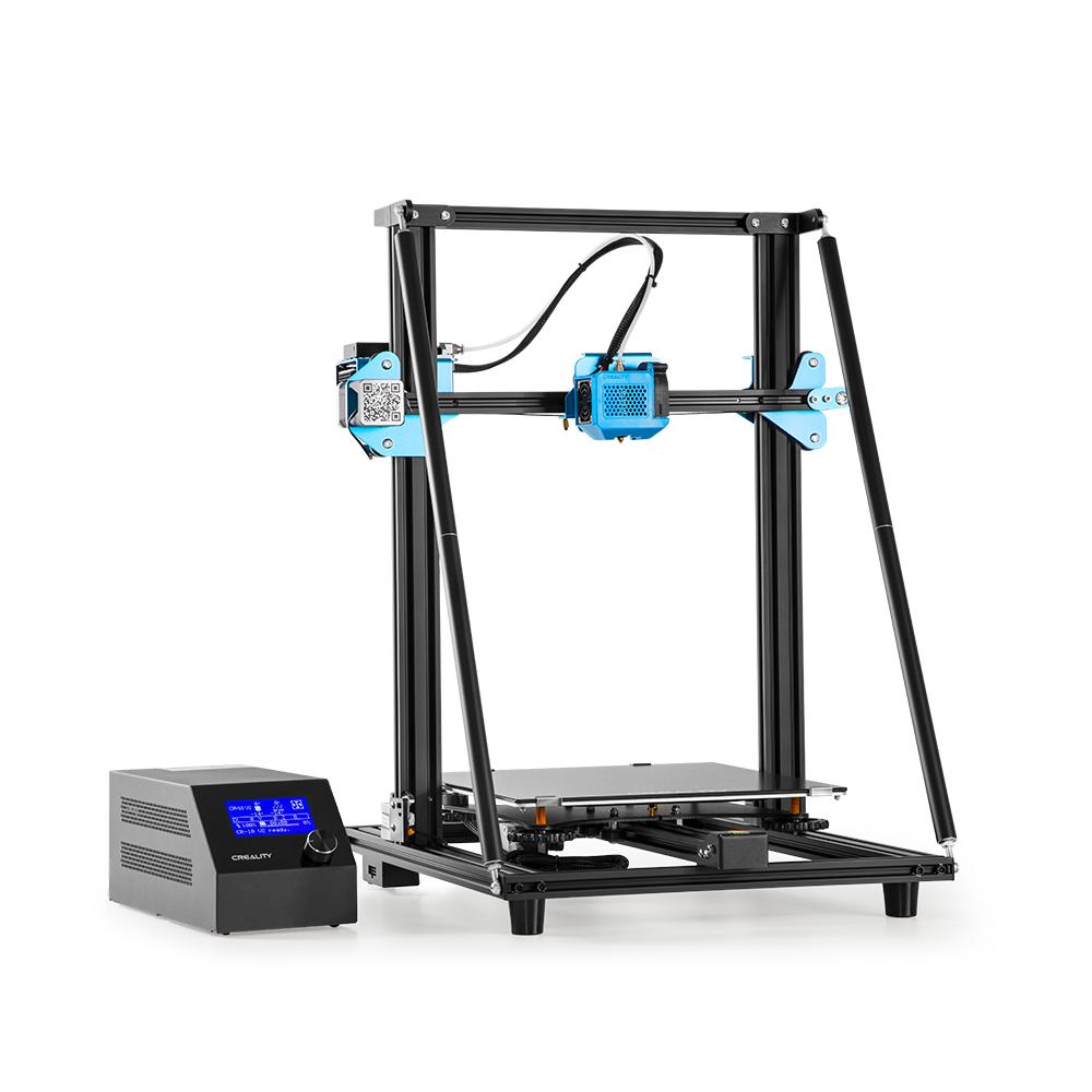 CREALITY CR-10 V2 3D Printer FDM 350w Laser Engraving Printer Black gray