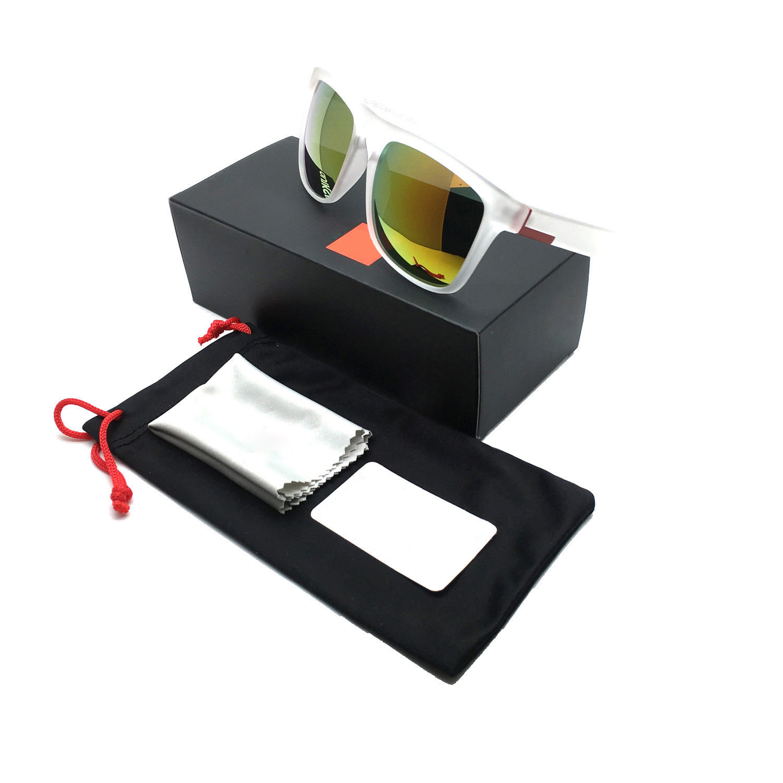 Stylish Men Women Outdoor Sunglasses UV400 Lightweight Clean Vision Sunglasses 8