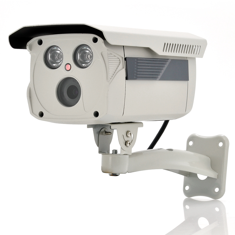 Patio Lights With Cameras: Weatherproof IP Camera From