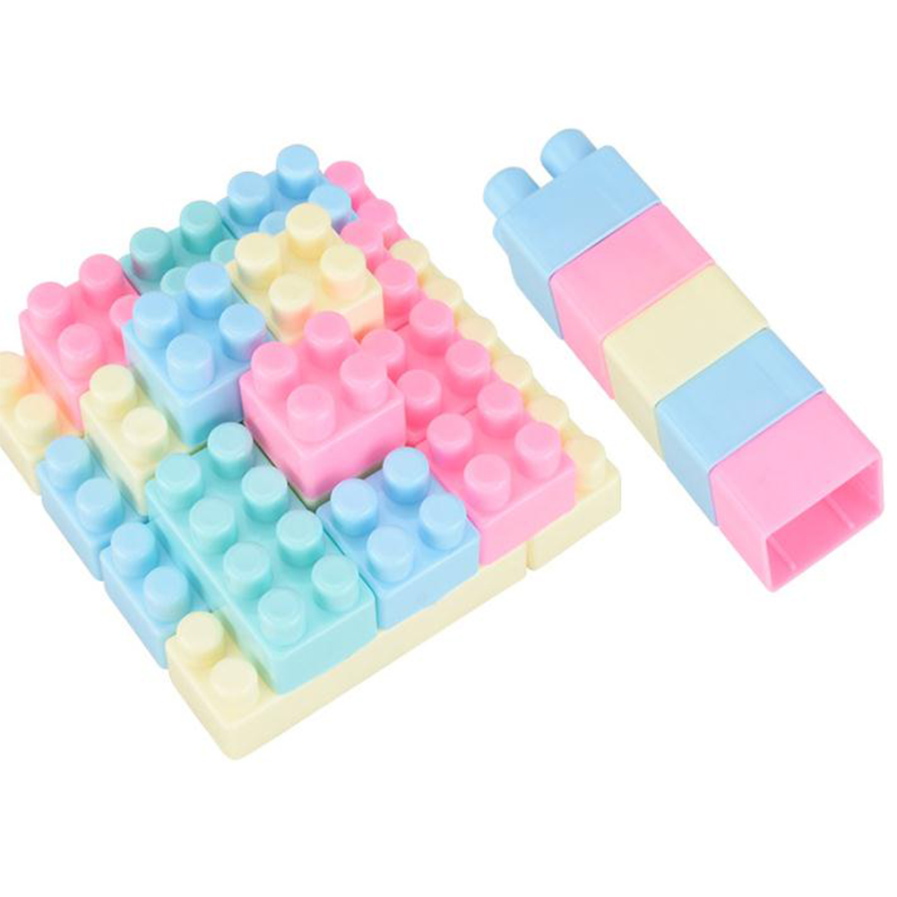 Colorful DIY Assemble Building Blocks Bricks Educational Toy for Kids Baby
