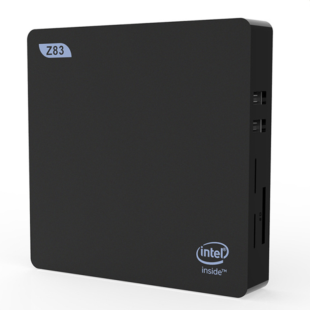 Z83V 4G+64G Z8350 Quad-Core Computer VGA and HDMI Dual Display Small Host