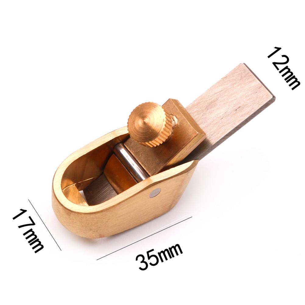 Violin Making Tools Mini Brass Planes Woodworking Planes 4 # (blade 12mm)