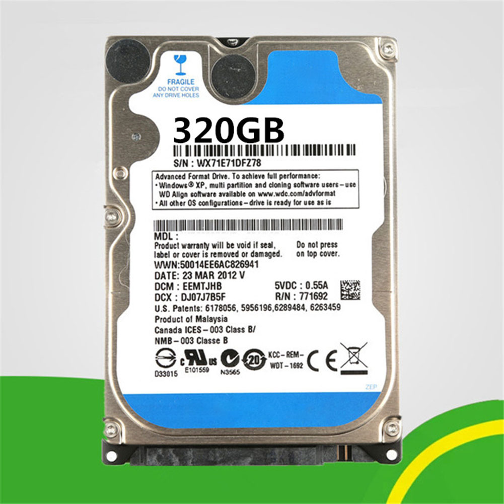 PC Hard Drive HDD 320GB