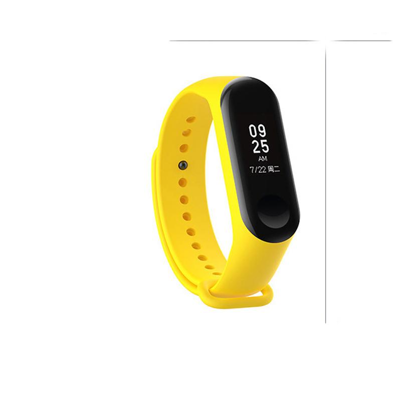 Silicone Wrist Strap Replacement for Xiaomi mi 3 Smart Bracelet Mi3 Accessories