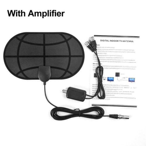 980 Miles 4K Digital HDTV Indoor TV Antenna with Amplifier Signal Booster TV Radius Surf