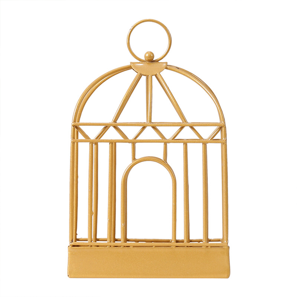 Birdcage Shape Mosquito-repellent Incense  Holder With Handle Incense Container Decorative Ornaments Golden