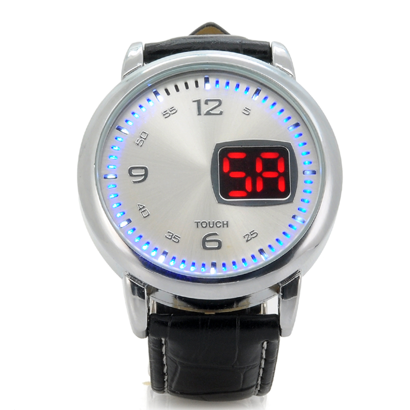 LED Watch w/ Touch Control - Chess