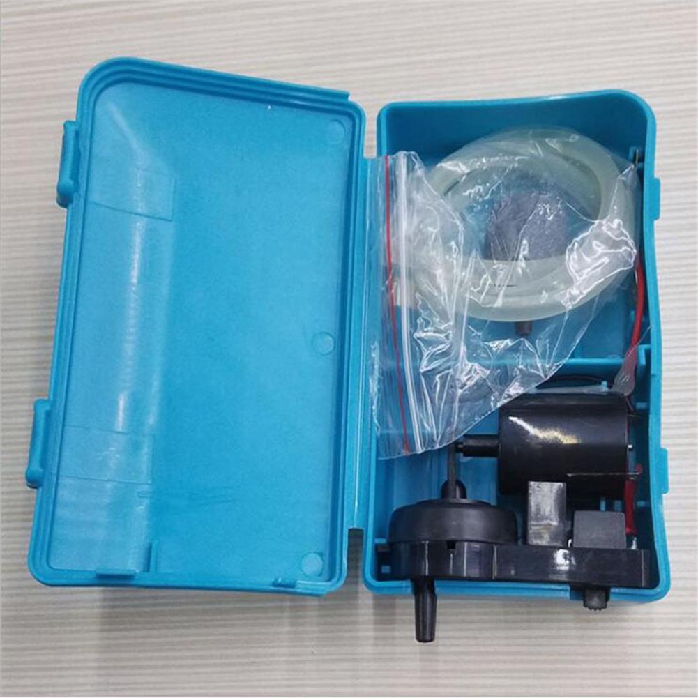 Ultra Silent Aquarium Air Pump Fish Tank Single Outlet Oxygen Pump Air Pump  blue
