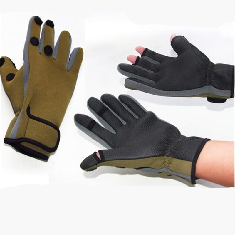 Waterproof Breathable Fishing Appearing Glove