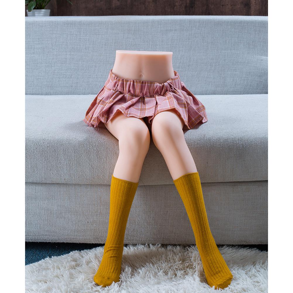 Sexdoll TPE 85cm Leg Model Half Body Sex Dolls For Men Masturbate Pussy Realistic Silicone Love Doll No Inflatable Sexy Girl 85cm