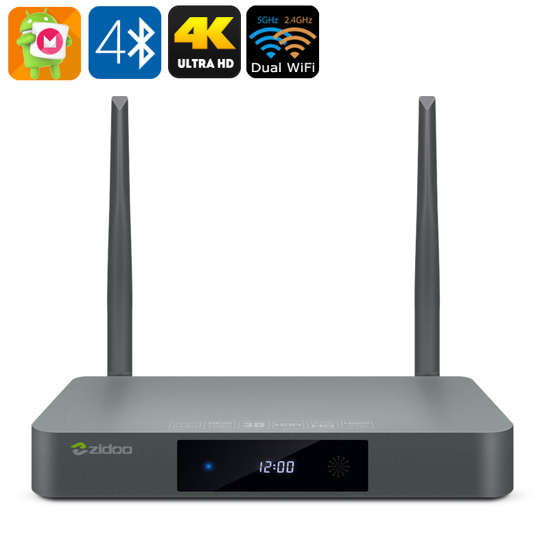 Zidoo X9S Android TV Box