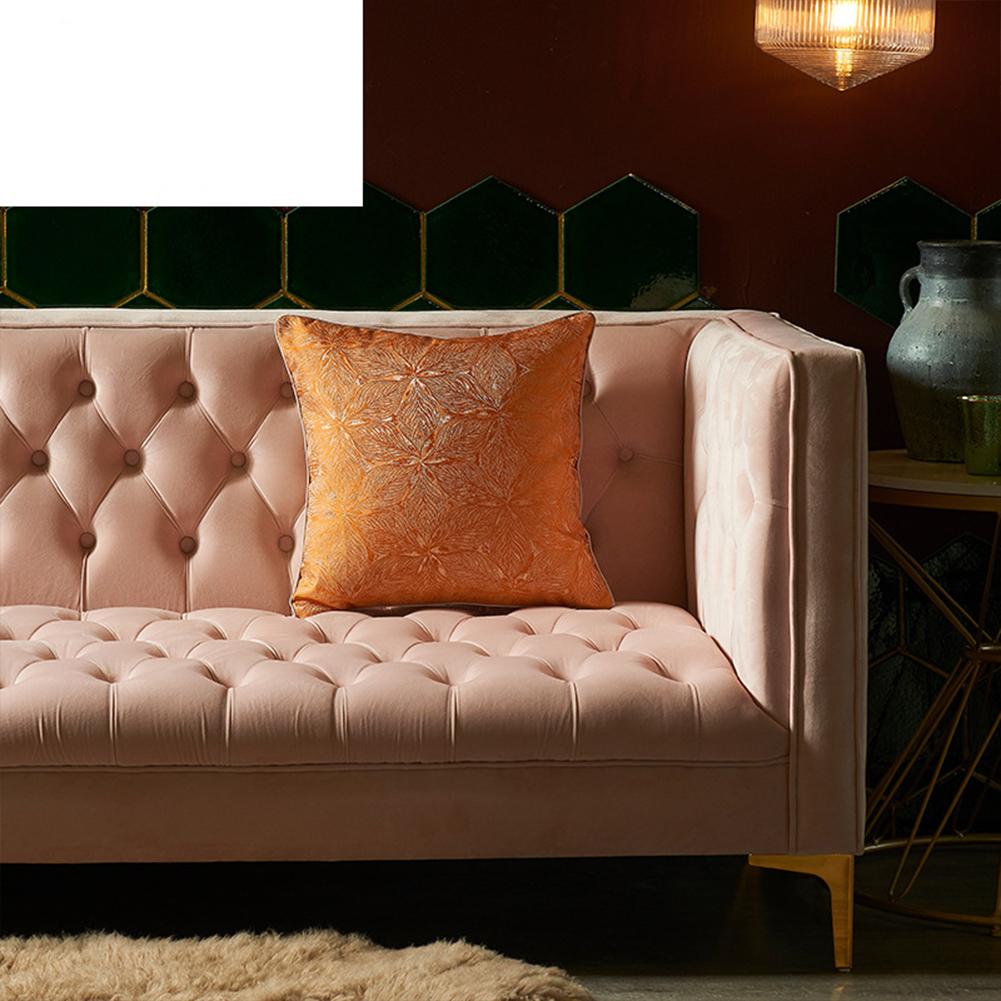 Artificial Silk  Pillowcase  45*45cm High-precision Pillow  Cover For Living Room 2