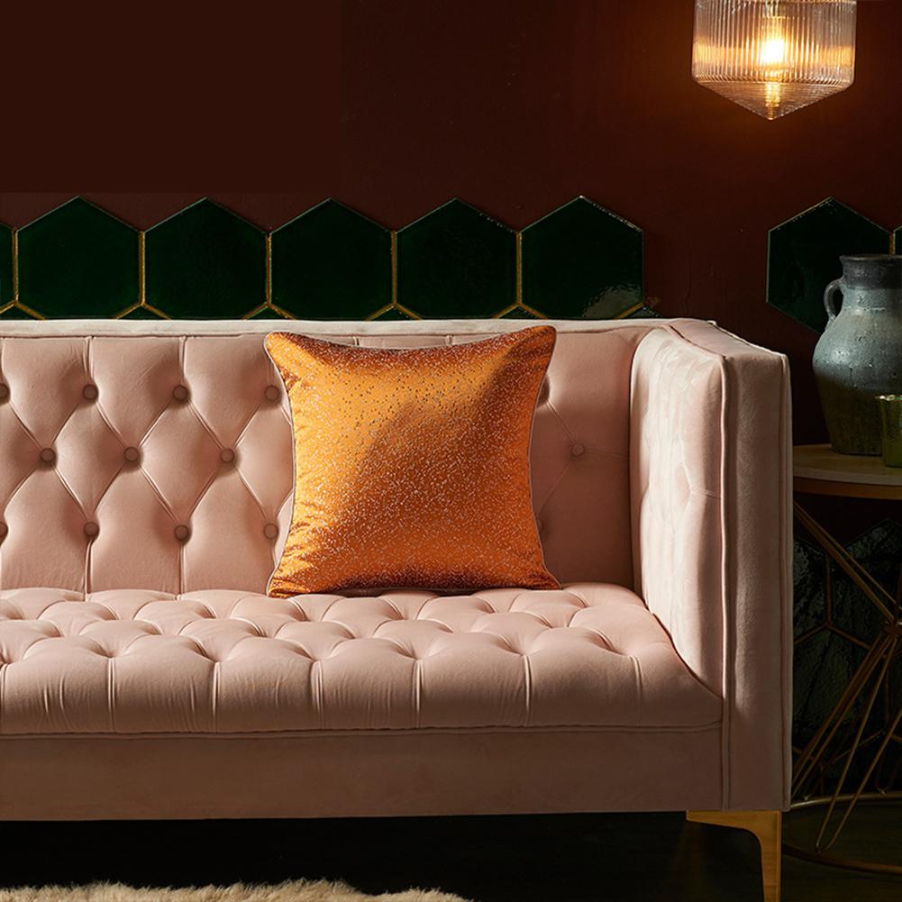 Artificial Silk  Pillowcase  45*45cm High-precision Pillow  Cover For Living Room 4