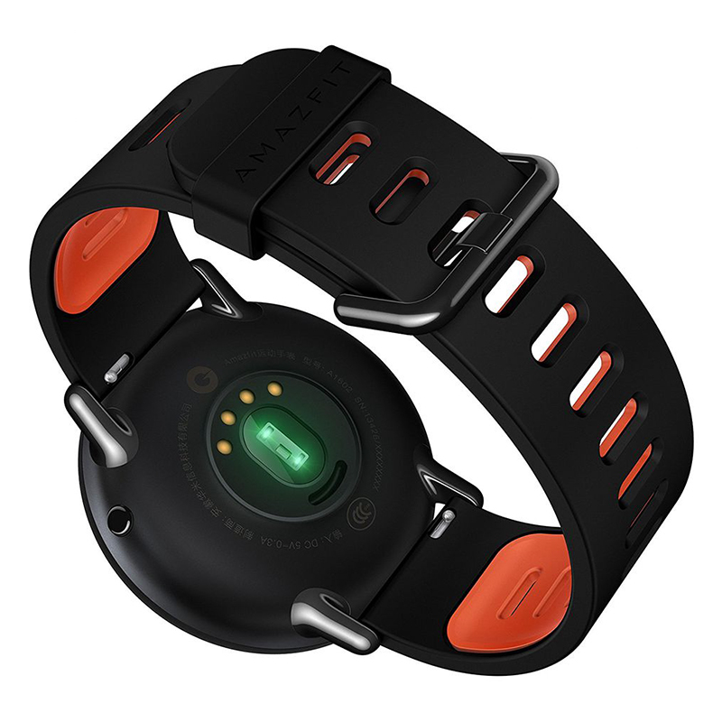Купить со скидкой Xiaomi AMAZFIT Bluetooh Smart Watch - GPS, PPG Heart Rate Sensor, Push Notification,  IP67, Pedomete