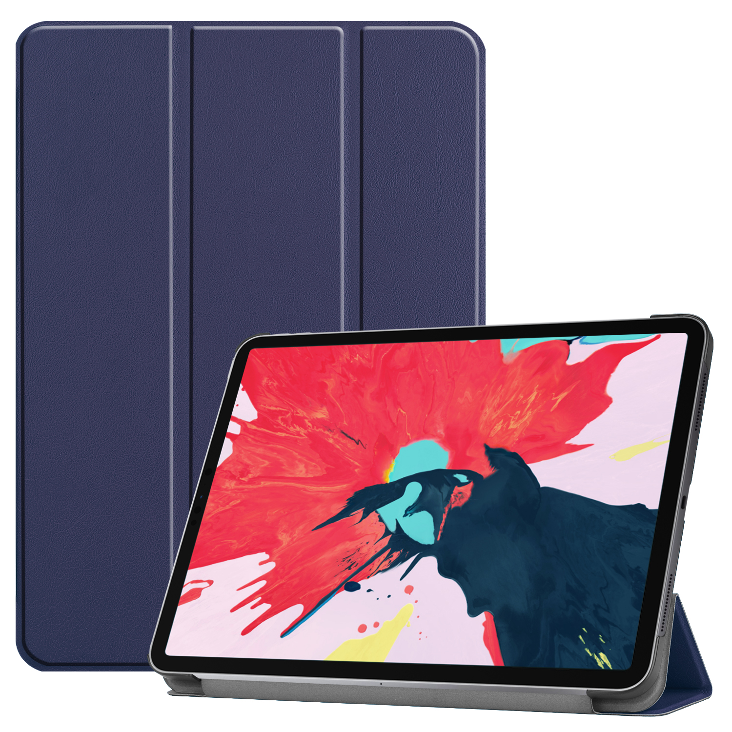 Tablet PC Protective Case Ultra-thin Smart Cover for iPad pro 11(2020) blue