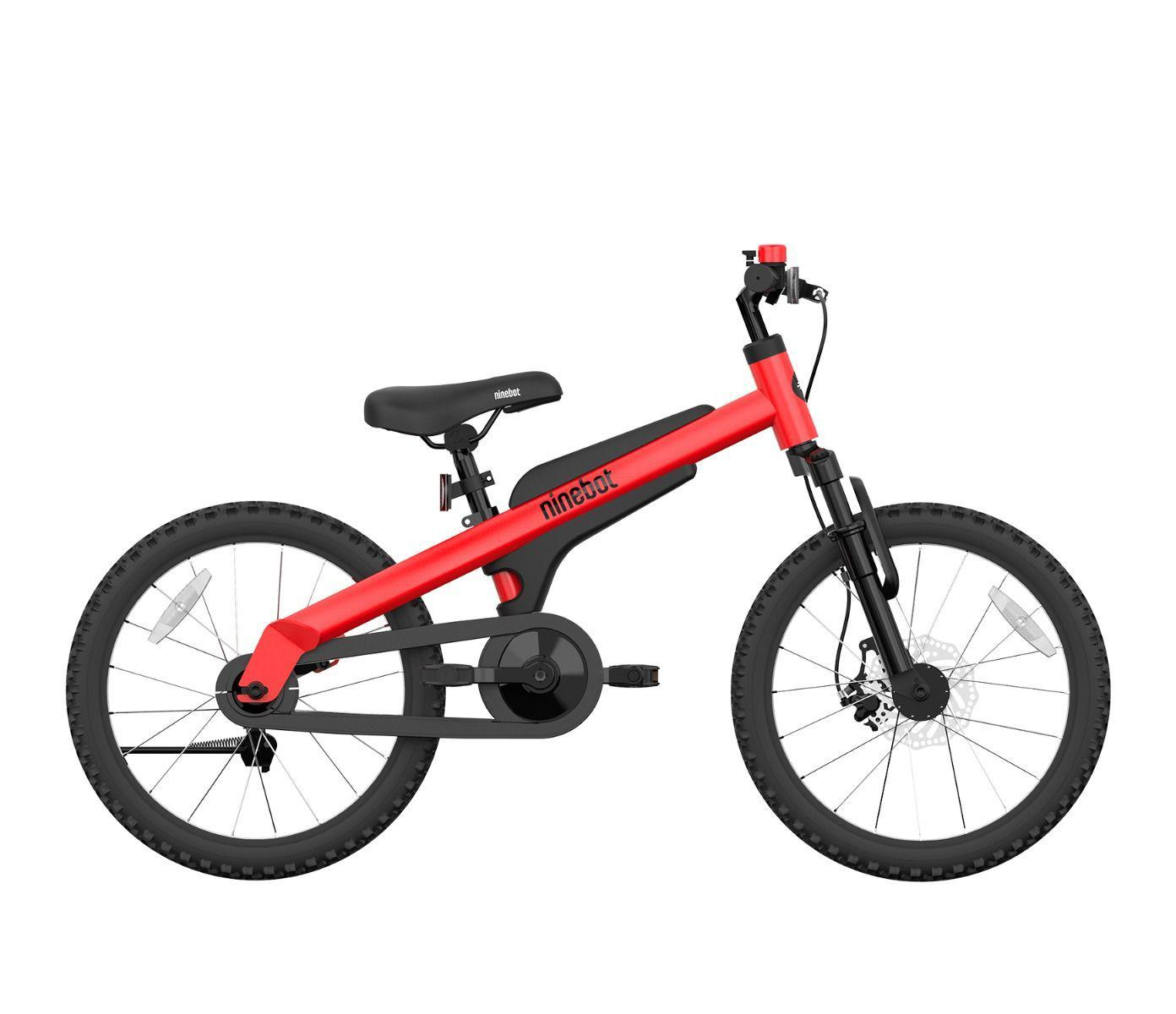 [US Direct] Ninebot Kids Bike by Segway 18 Inch with Kickstand, Premium Grade, Recommended Height 3'9'' - 4'9'' (Blue) 124.*81.0*54.0