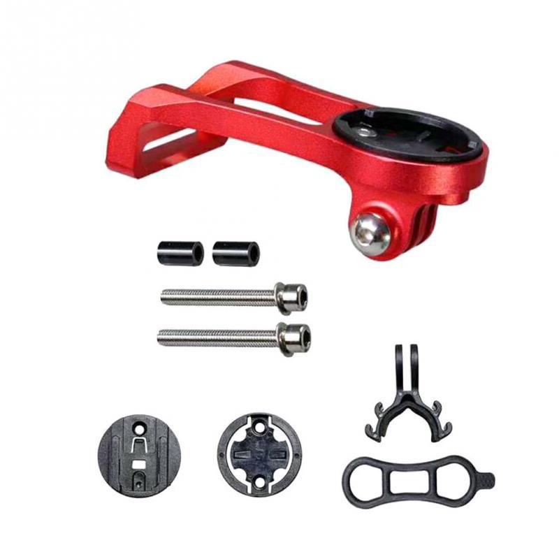 Bicycle Speed Meter Bracket Aluminium Alloy Speed Meter Expand Bracket red
