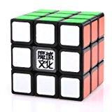 [US Direct] MoYu Weilong Magic Cube 3x3x3 Magic Speed Puzzle Cube Black