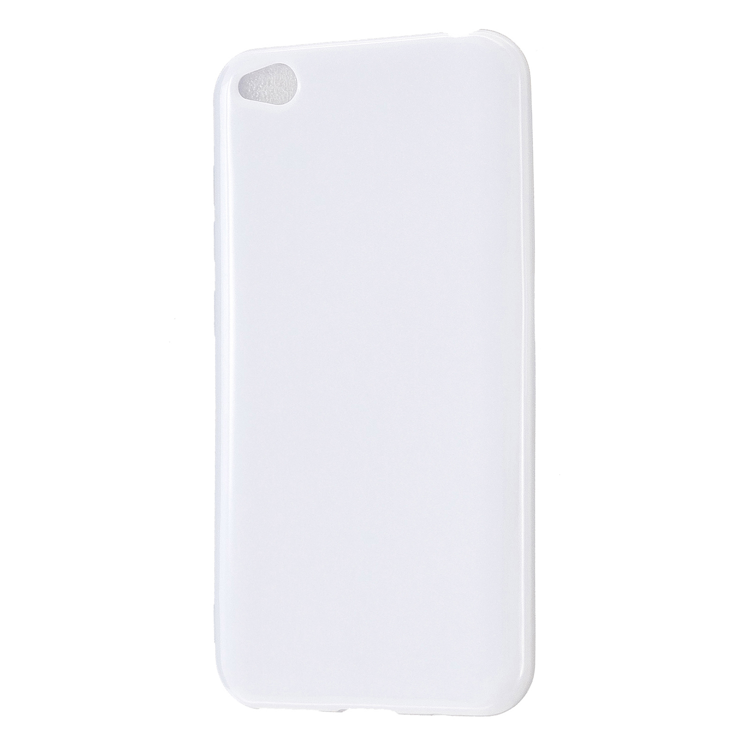 For Redmi GO/Note 5 Pro/Note 6 Pro Cellphone Cover Drop and Shock Proof Soft TPU Phone Case Classic Shell Milk white