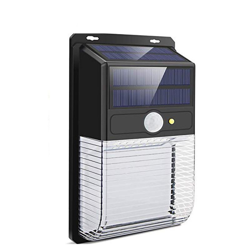 36LEDs Solar Powered Wall Light Motion Sensor Outdoor Waterproof Energy-saving Street Light 36LED