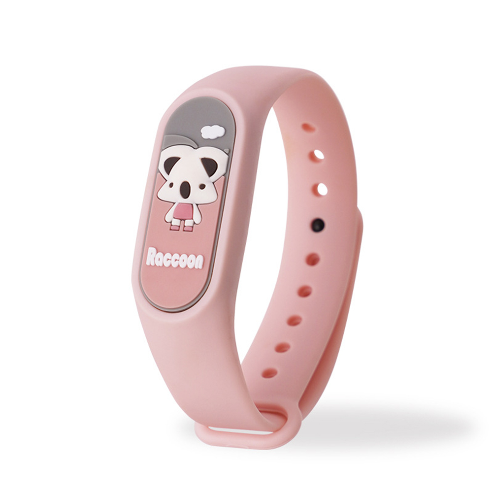 Kids Anti Mosquito Bracelet Cartoon Insect Prevention Safety Silicone Bracelet 1