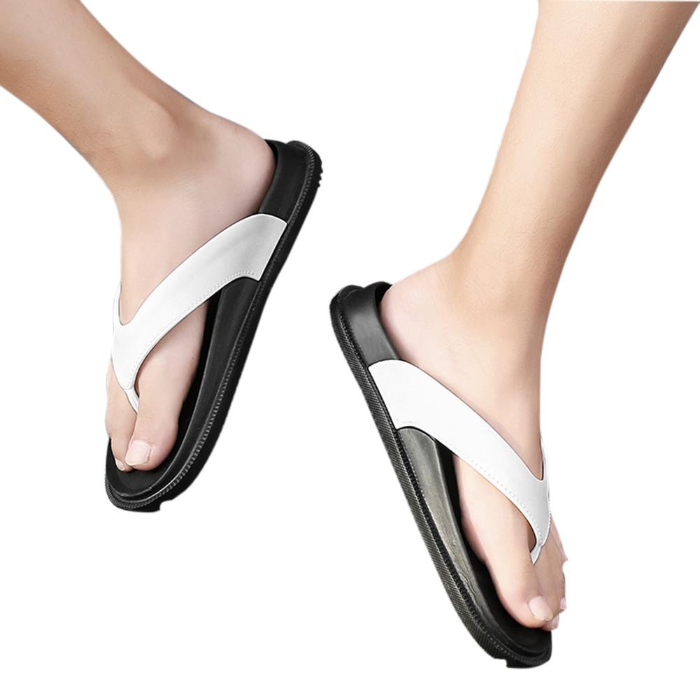 Men Summer Casual Beach Non-slip Breathable Flip-flops