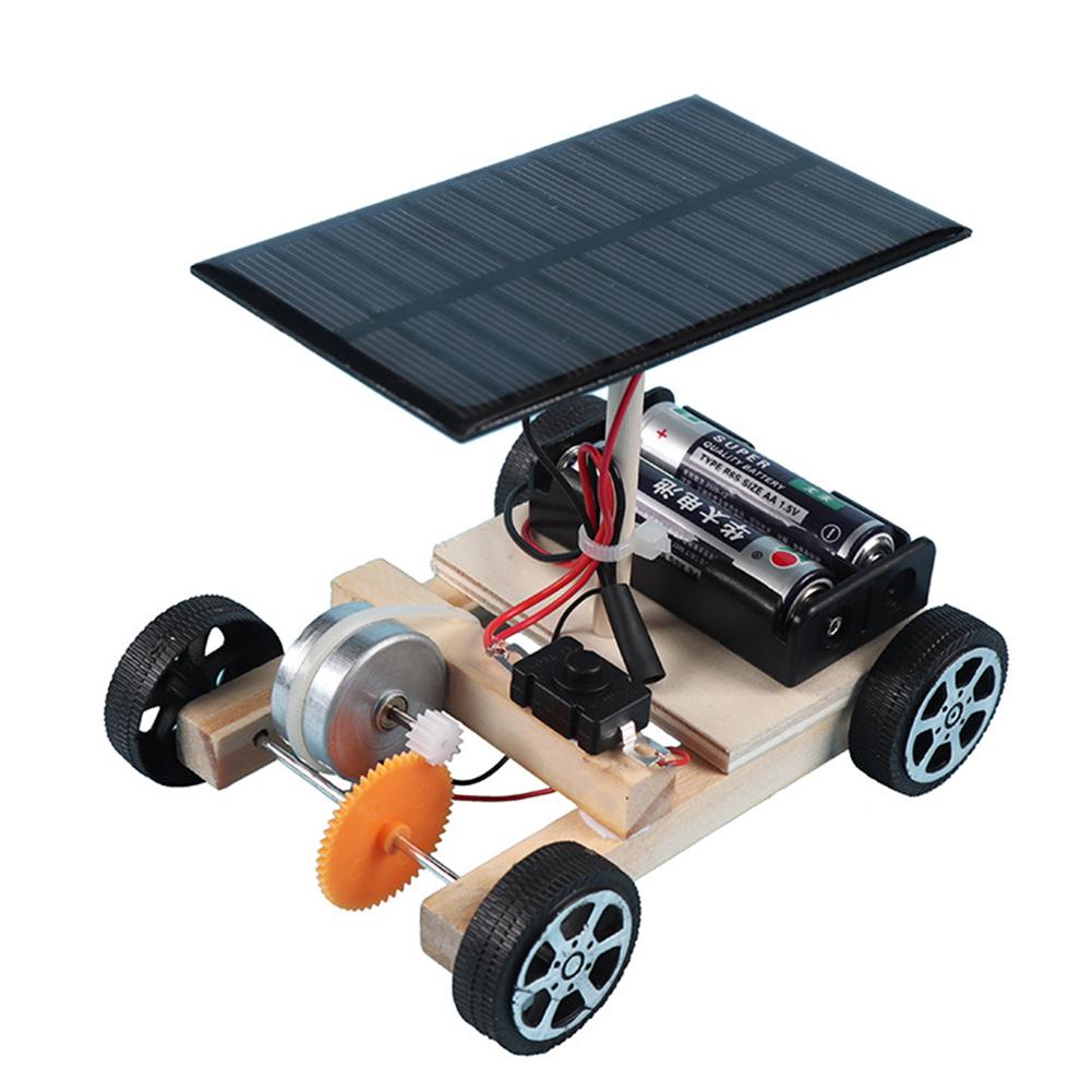 Solar Car Toys Robot Kit Diy Assemble Toy Set Solar Powered Car Kit Educational Science Toys For Boys Girls Robot Kit Robot Car Solar racing