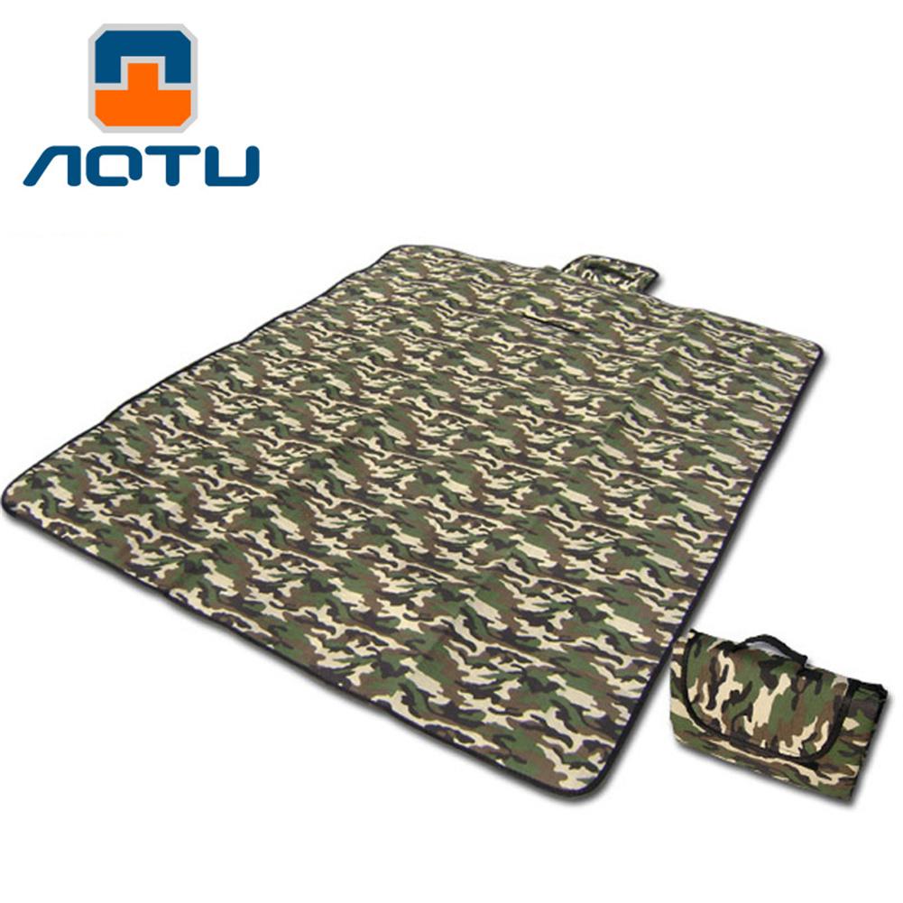 Camping Picnic  Mat Waterproof Moisture-proof Insulation Outdoor Beach Mat Mattress Camping Mat Sleeping Pad