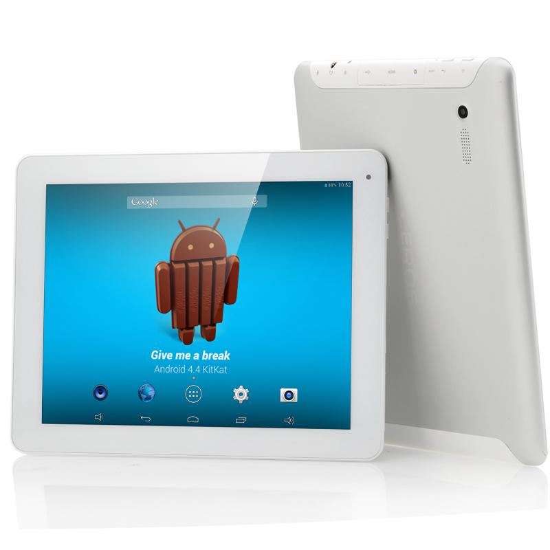 E-Ceros Revolution Android 4.4 Tablet (White)