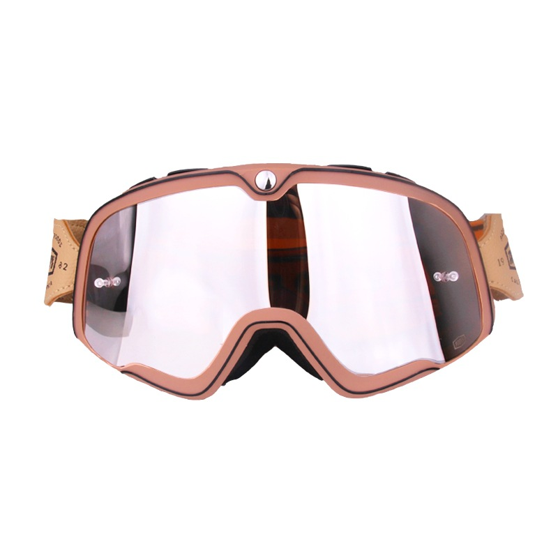 Motorbike Outdoor Sport Goggle Retro Style Motorcycle Goggles Ski Off Road Glasses Motocross Glasses