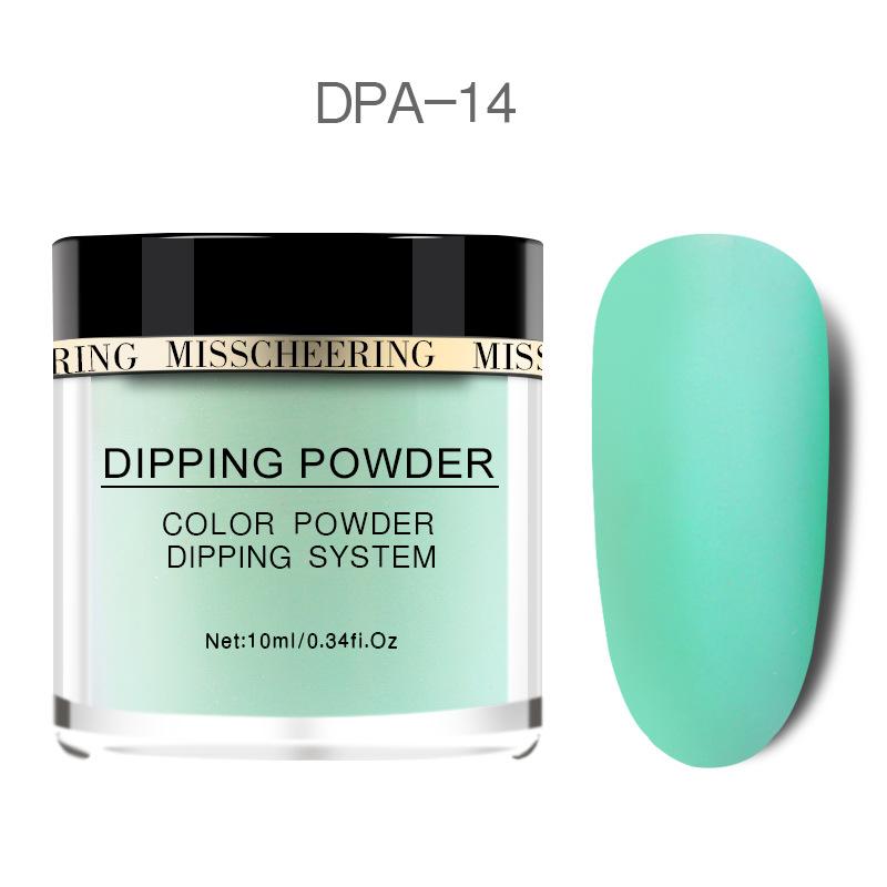 Matte Color Manicure Powder Nail Dipping Powder Nail Art Decorations  14