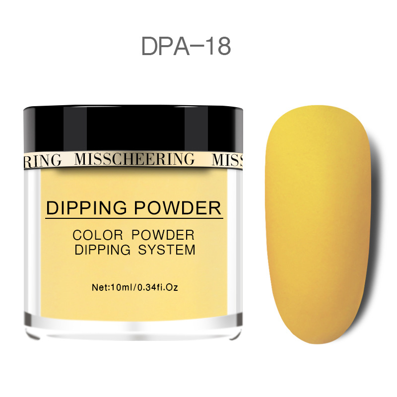 Matte Color Manicure Powder Nail Dipping Powder Nail Art Decorations  18