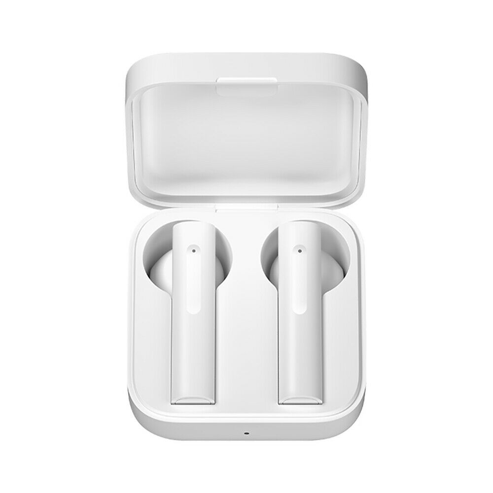 TWS Bluetooth Headset Wireless with Synchronized Touch Control Function white