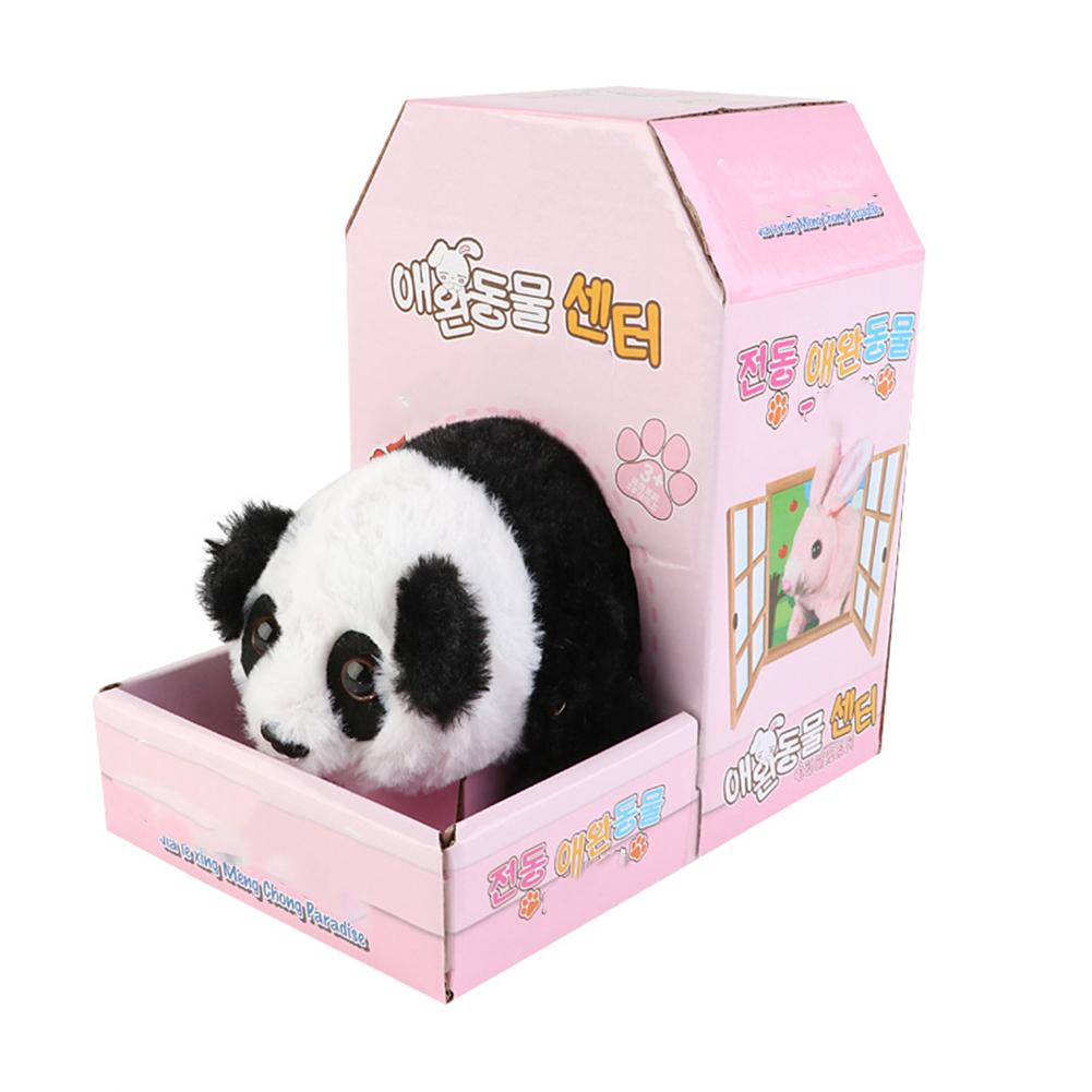 Electric  Plush  Simulation  Animal  Toys Walk Sounds Plush Doll Toy For Children Panda