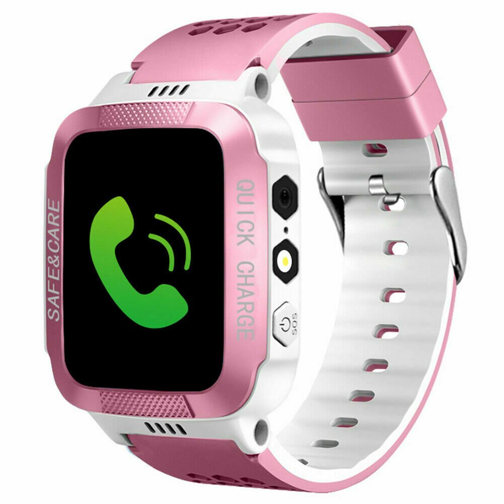 Anti-lost Child Kid Smartwatch Positioning GPS Wristwatch Track Location SOS Call Safe Care Y21 touch screen + camera