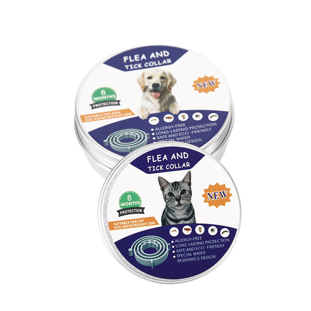 Pet Dog Cat Collar Anti Flea Ticks Mosquitoes Insect Repelling Collar Cat