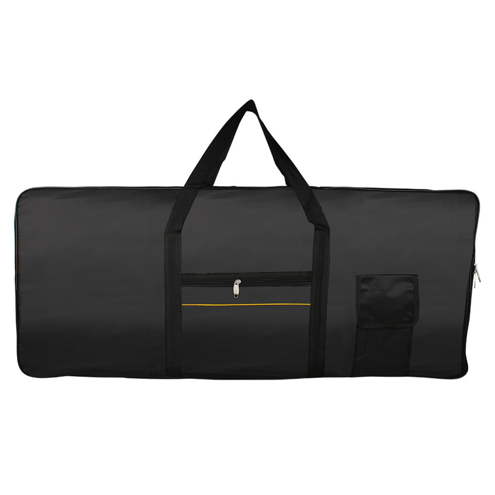 Portable Professional 61 Keys Keyboard Bag Electric Piano Organ Padded Case Gig  black