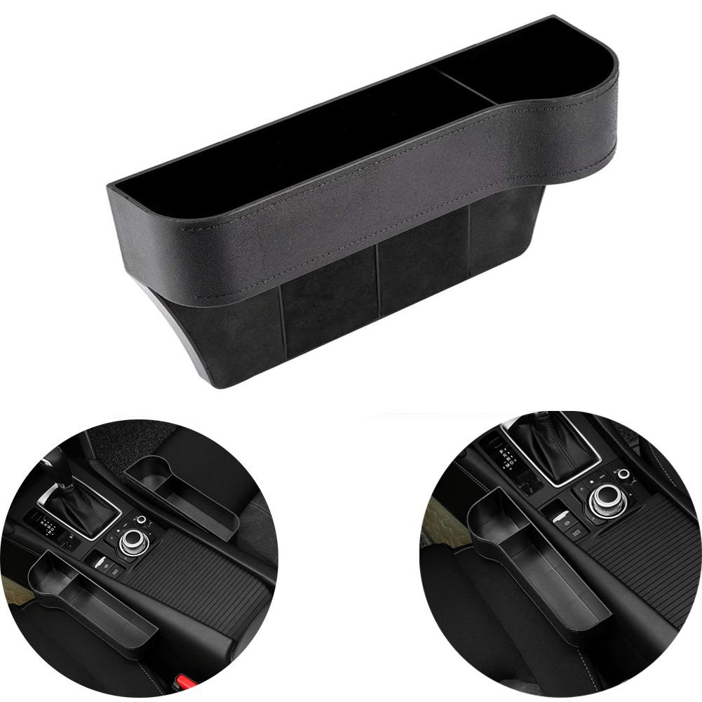 Car Storage Box Car Storage Box Car Seat Gap Storage Bag Leakproof Storage Box Co-pilot side