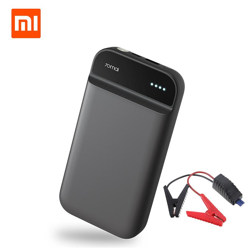 XIAOMI 70mai Jump Starter 11100mAh Portable Car Jump Starter Emergency Battery Booster Waterproof Battery Charger Power Bank Kit black