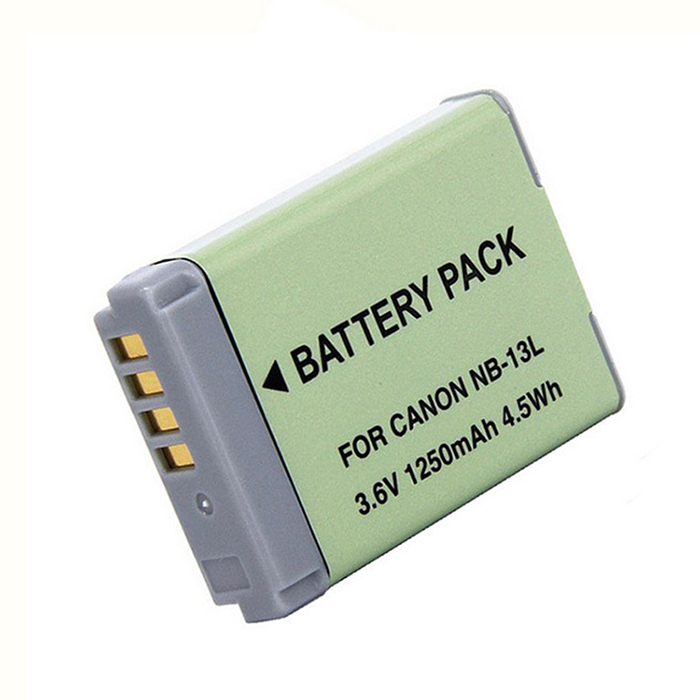 DSTE Spare Battery For Canon NB-13L Powershot G5X G7X G9X Mark II G9X HS A 3.6V