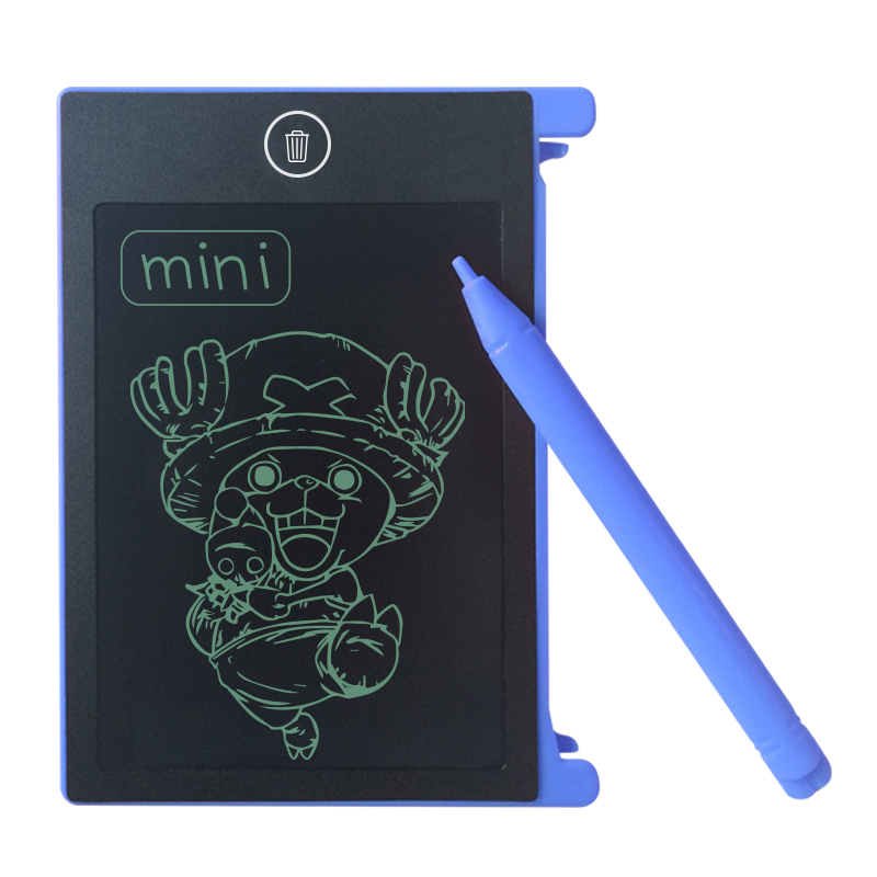 LCD Writing Tablet Digital Drawing Electronic Handwriting Pad Message Graphics Board 8.5 inch black