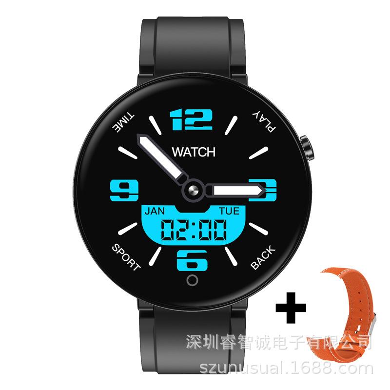 Heart Rate Blood Pressure Multi-function Multi-sports Mode Step-counting IP67 Waterproof Smart Bracelet black