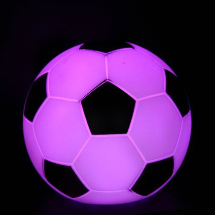 LED 7 Color Change Football Night Light