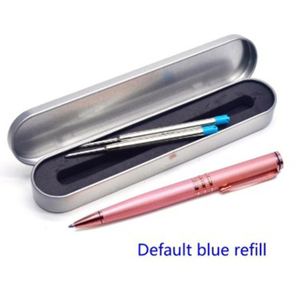 Metal Rotary Refills Ball-point Pen Office & School Supplies